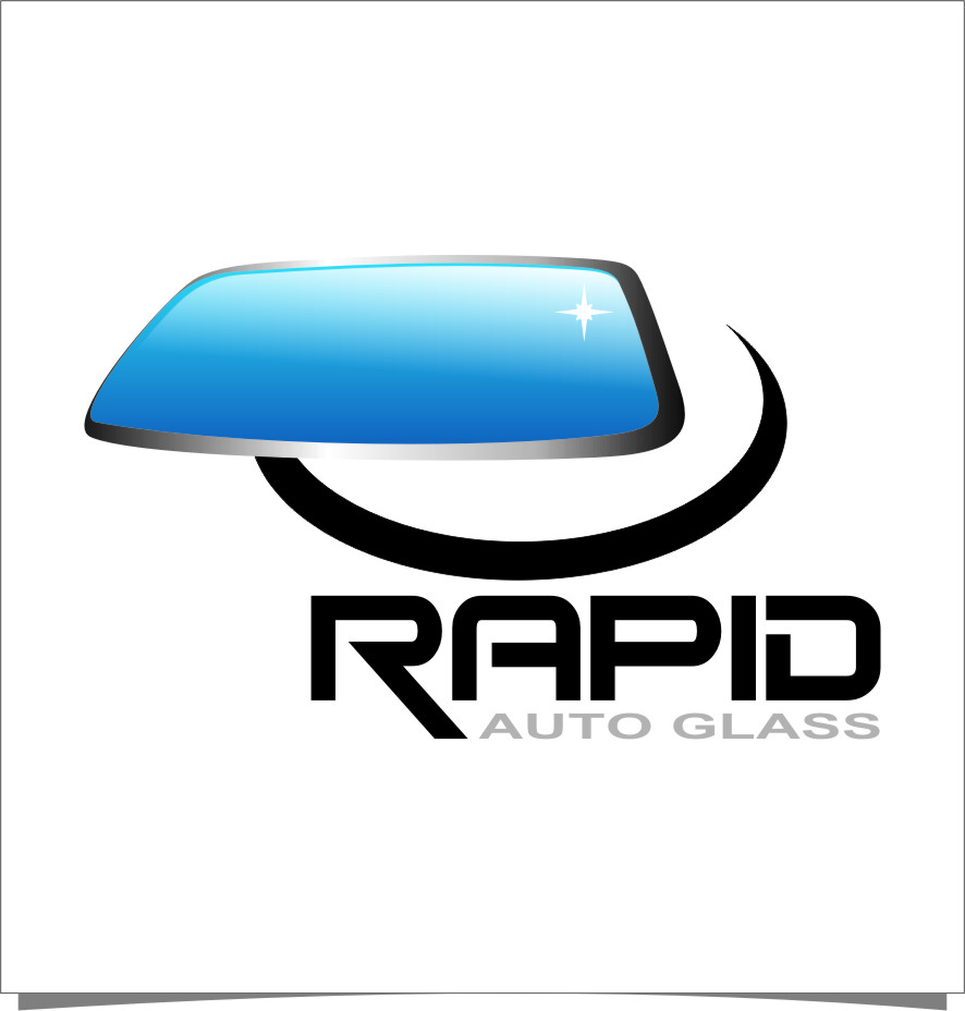 Logo Design by RasYa Muhammad Athaya - Entry No. 164 in the Logo Design Contest Unique Logo Design Wanted for Rapid Auto Glass.