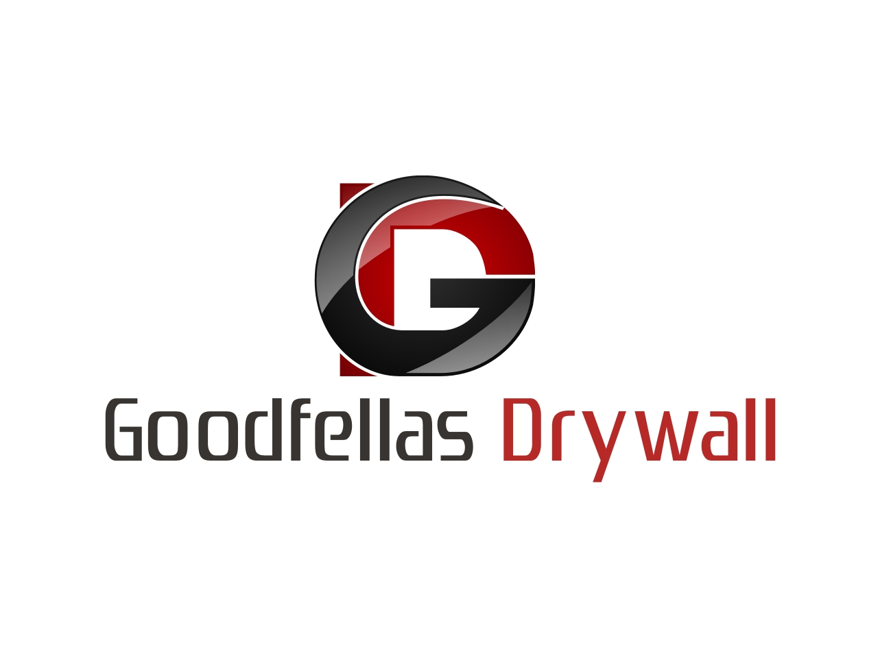 Logo Design by Private User - Entry No. 73 in the Logo Design Contest Creative Logo Design for Goodfellas Drywall.
