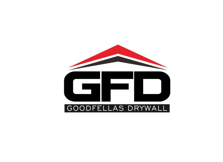 Logo Design by ronny - Entry No. 74 in the Logo Design Contest Creative Logo Design for Goodfellas Drywall.