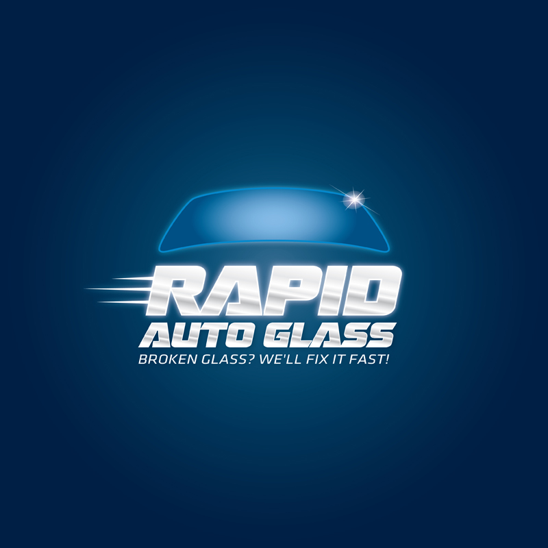 Logo Design by kianoke - Entry No. 170 in the Logo Design Contest Unique Logo Design Wanted for Rapid Auto Glass.