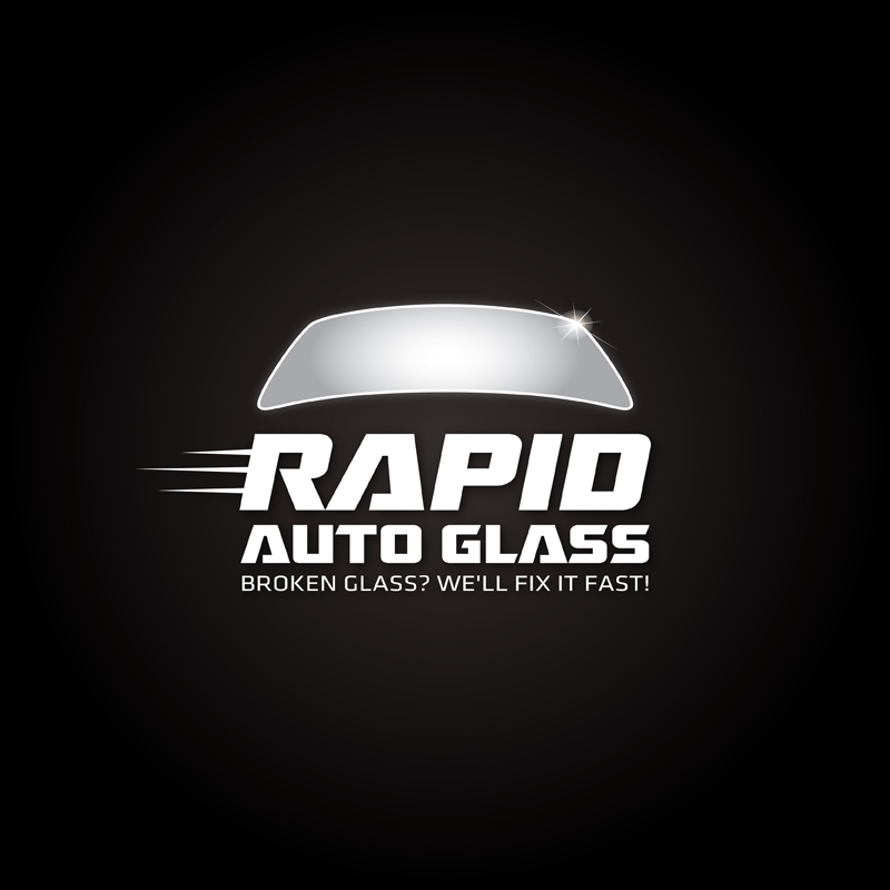 Logo Design by kianoke - Entry No. 173 in the Logo Design Contest Unique Logo Design Wanted for Rapid Auto Glass.