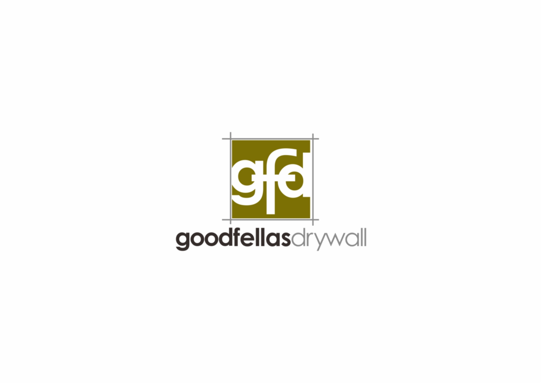 Logo Design by Private User - Entry No. 77 in the Logo Design Contest Creative Logo Design for Goodfellas Drywall.