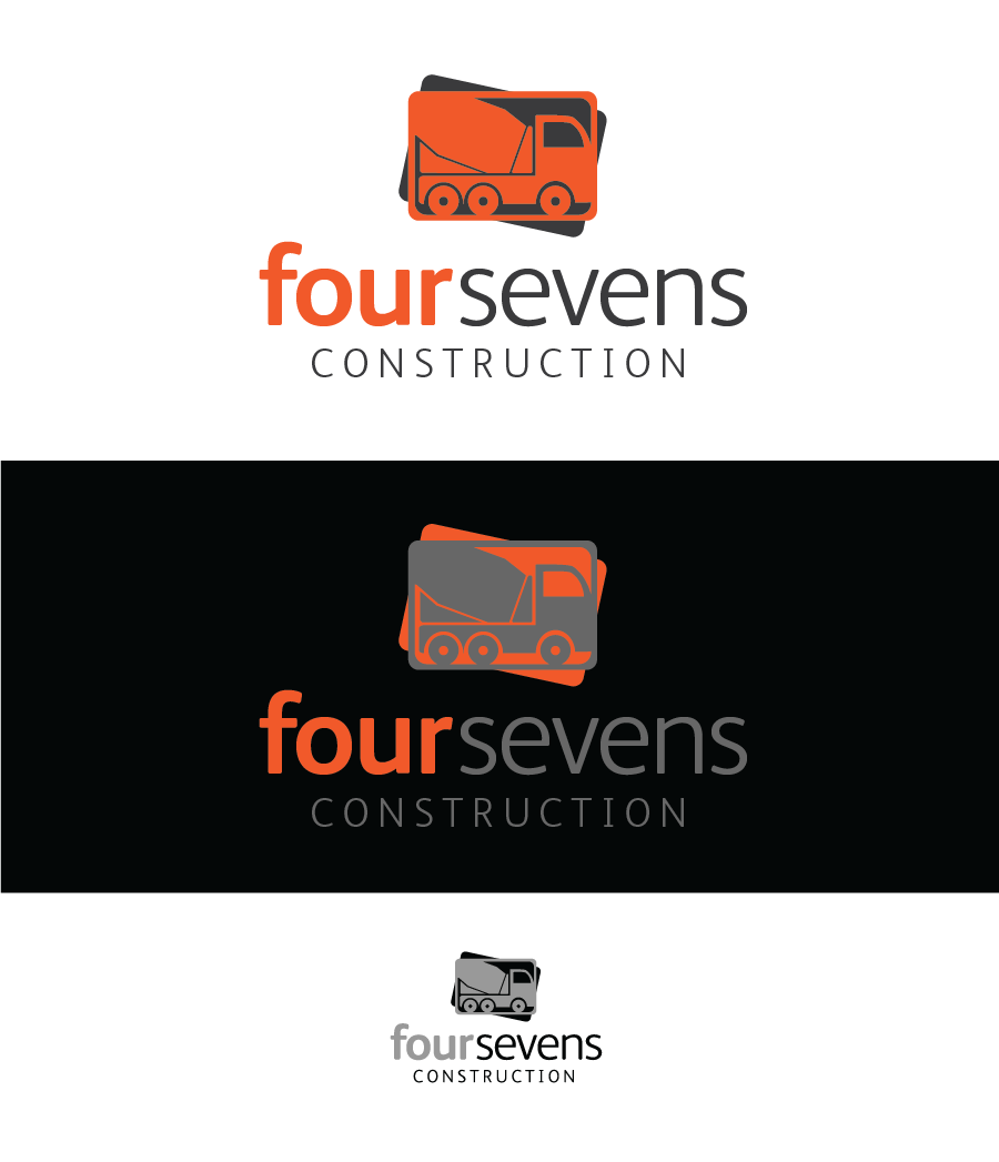 Logo Design by Christina Evans - Entry No. 14 in the Logo Design Contest New Logo Design for foursevens.