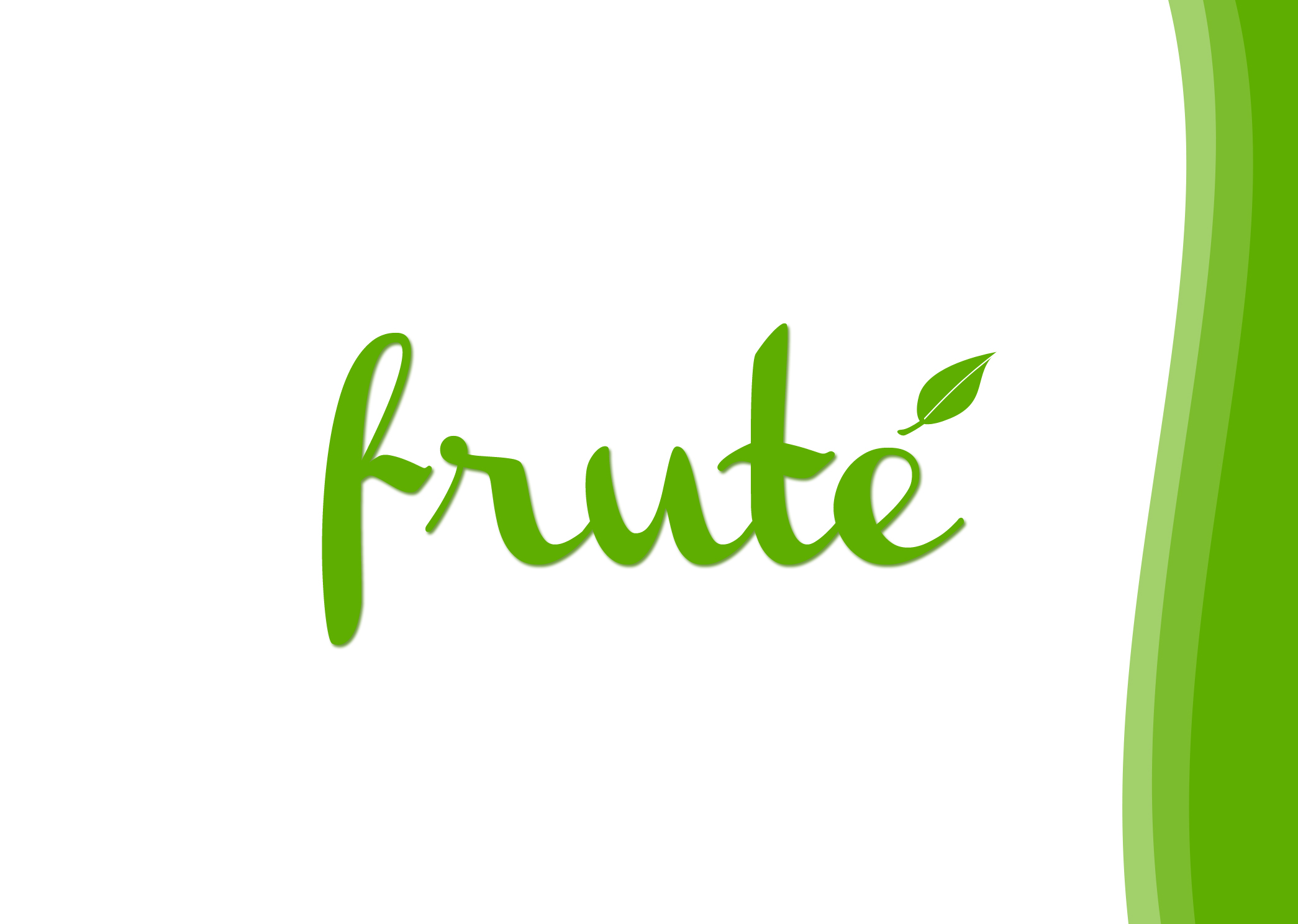 Logo Design by Lama Creative - Entry No. 3 in the Logo Design Contest Imaginative Logo Design for Fruté.