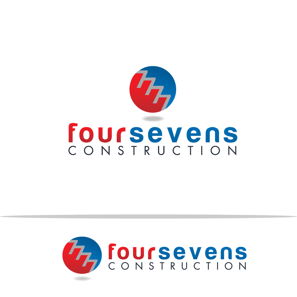 Logo Design by rockin - Entry No. 32 in the Logo Design Contest New Logo Design for foursevens.