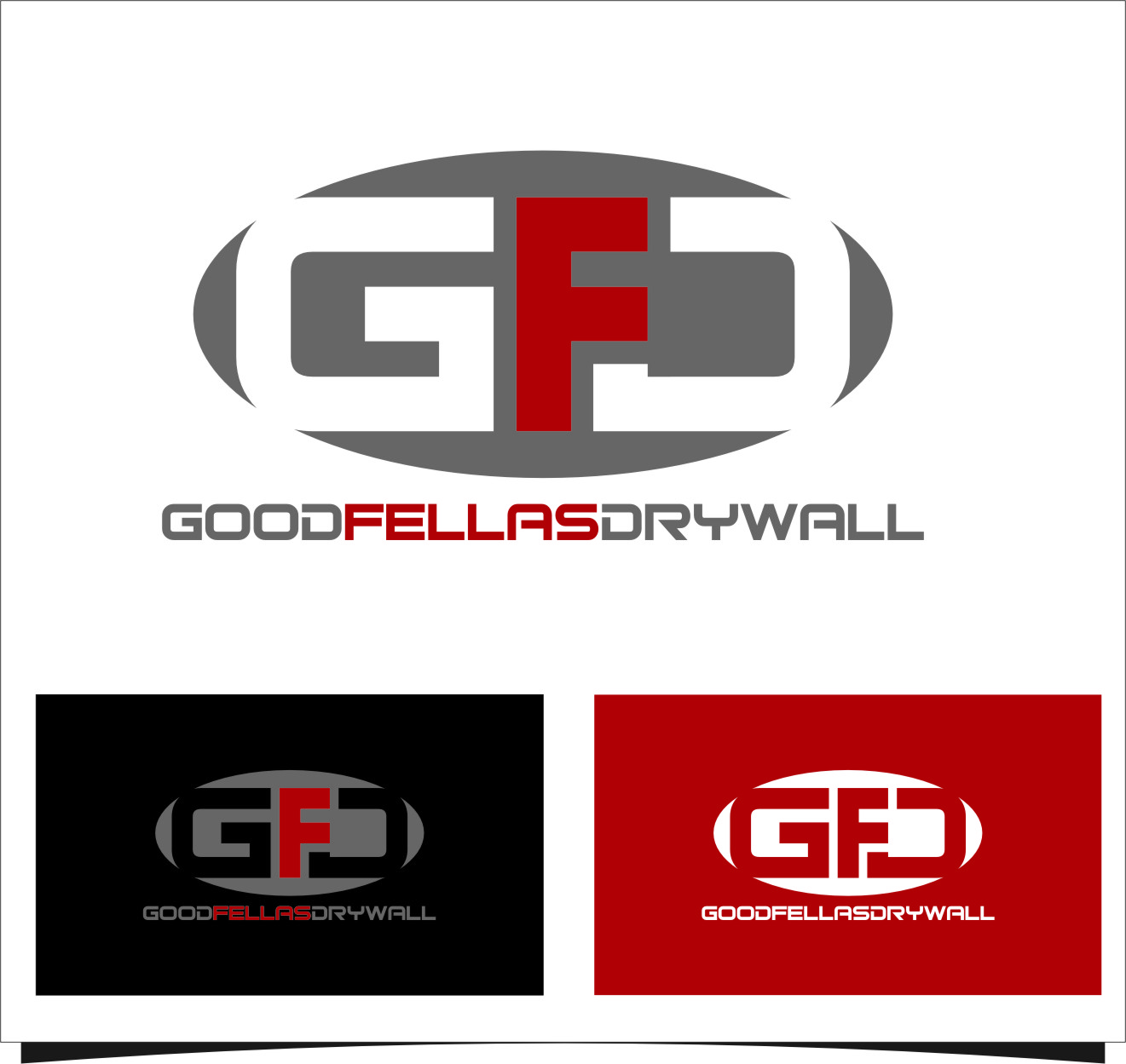 Logo Design by Ngepet_art - Entry No. 92 in the Logo Design Contest Creative Logo Design for Goodfellas Drywall.