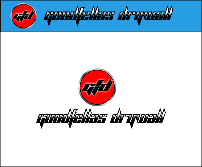 Logo Design by Agus Martoyo - Entry No. 101 in the Logo Design Contest Creative Logo Design for Goodfellas Drywall.