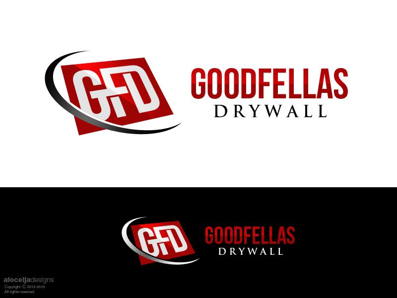 Logo Design by alocelja - Entry No. 102 in the Logo Design Contest Creative Logo Design for Goodfellas Drywall.