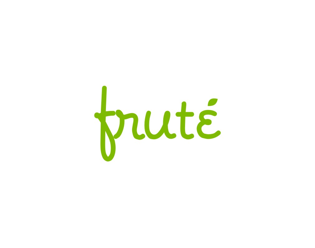 Logo Design by untung - Entry No. 12 in the Logo Design Contest Imaginative Logo Design for Fruté.