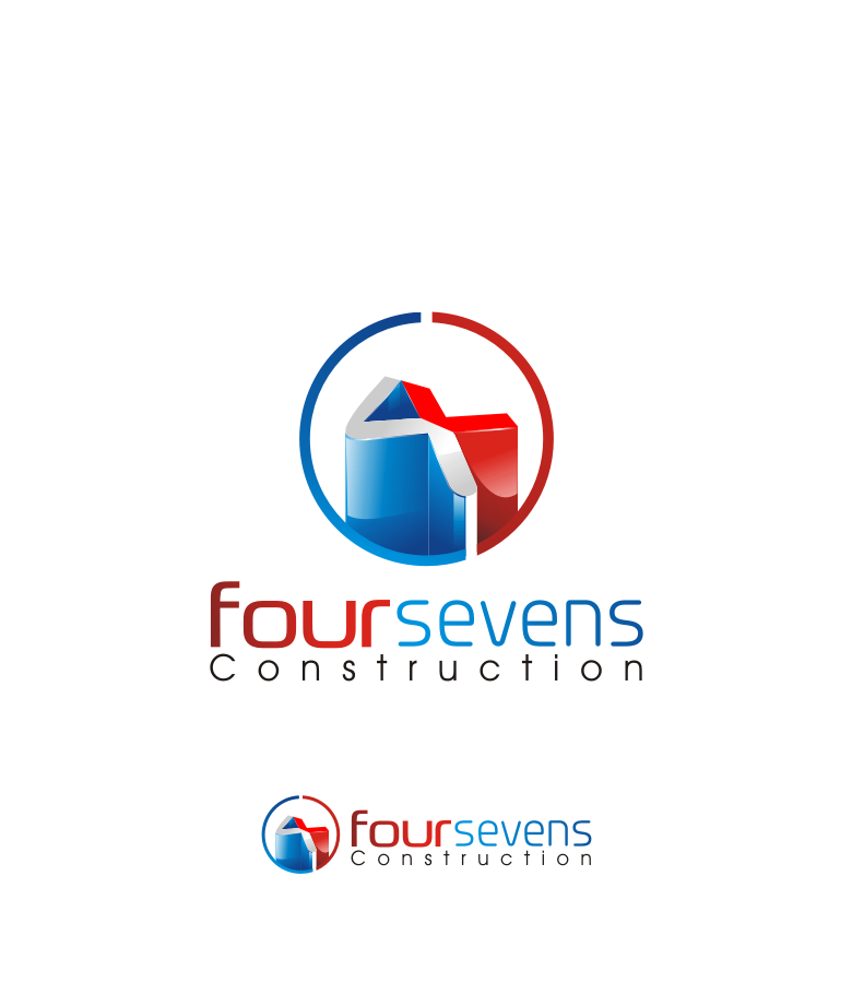 Logo Design by graphicleaf - Entry No. 39 in the Logo Design Contest New Logo Design for foursevens.
