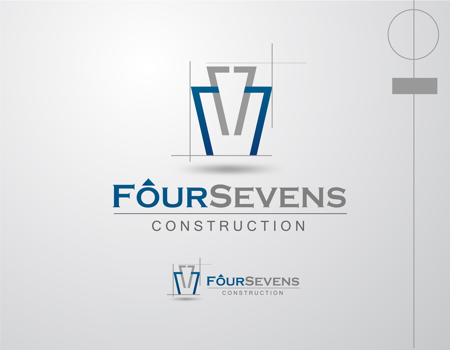 Logo Design by Mark Anthony Moreto Jordan - Entry No. 41 in the Logo Design Contest New Logo Design for foursevens.