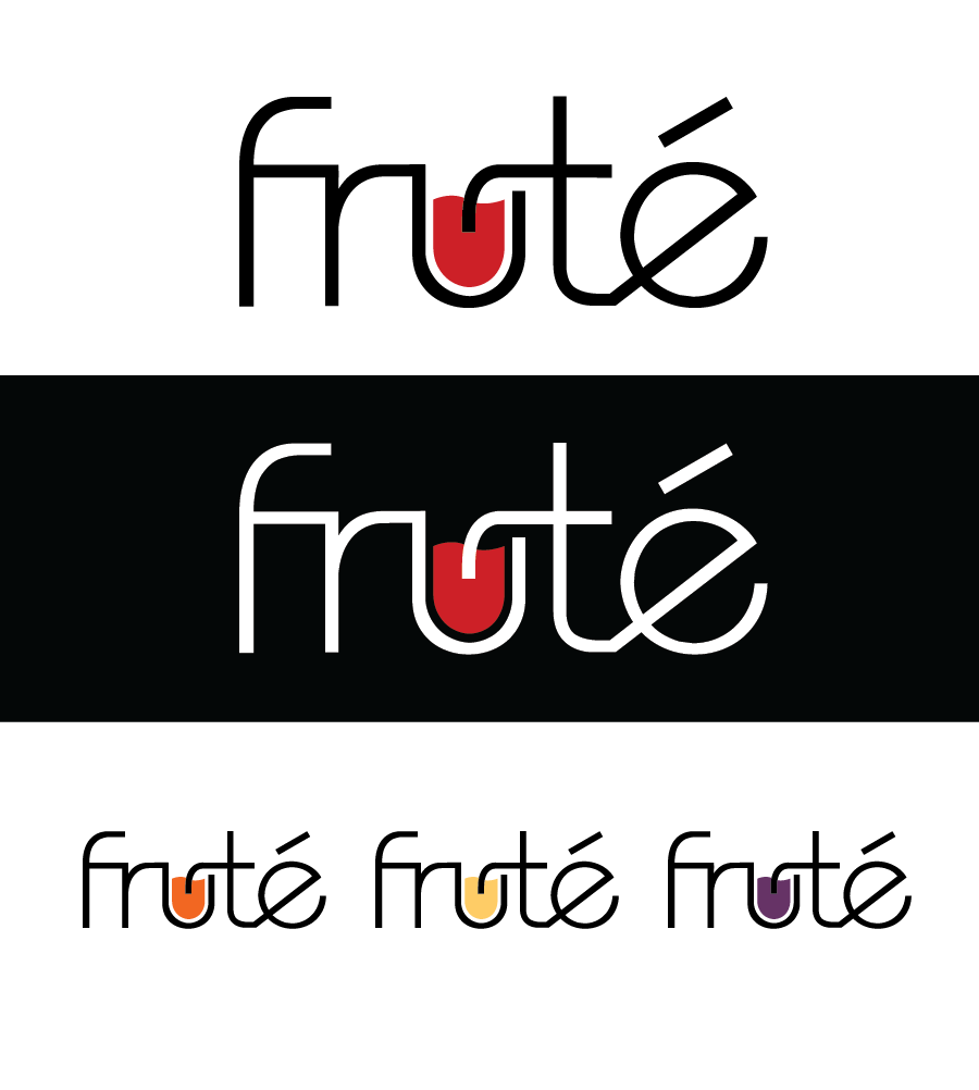 Logo Design by Christina Evans - Entry No. 13 in the Logo Design Contest Imaginative Logo Design for Fruté.