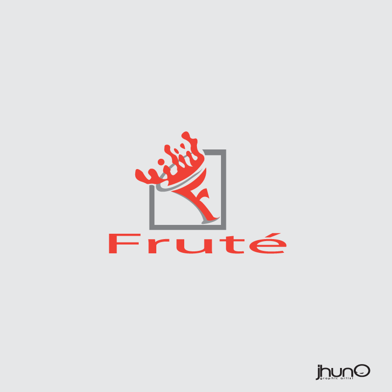 Logo Design by zesthar - Entry No. 14 in the Logo Design Contest Imaginative Logo Design for Fruté.