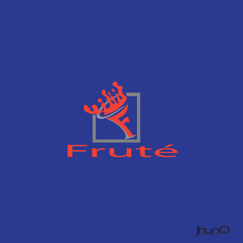 Logo Design by zesthar - Entry No. 15 in the Logo Design Contest Imaginative Logo Design for Fruté.
