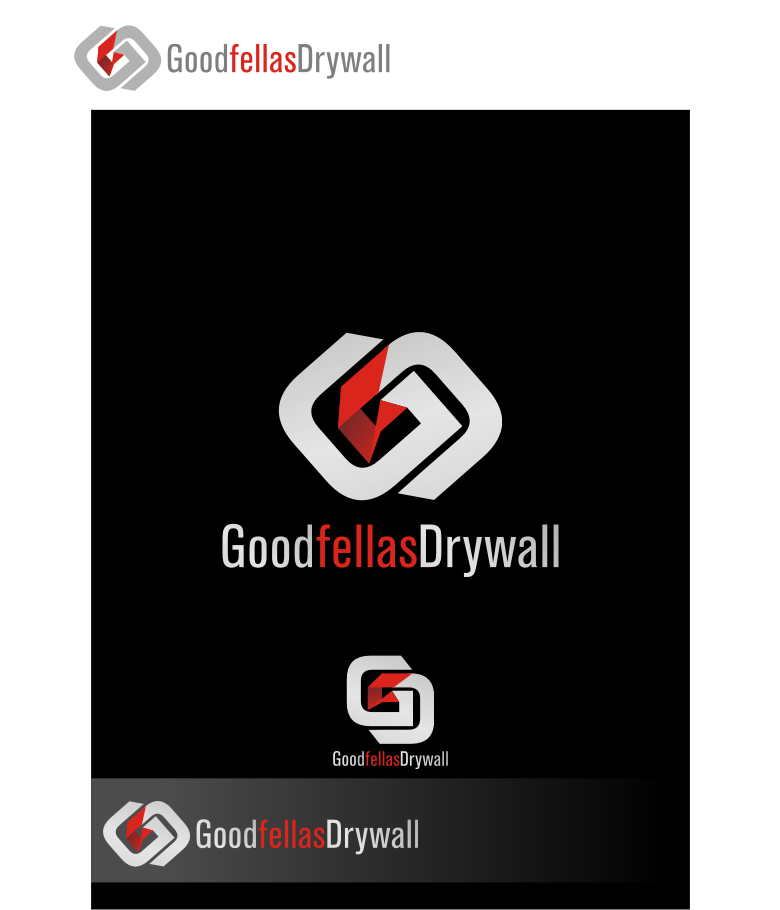 Logo Design by graphicleaf - Entry No. 111 in the Logo Design Contest Creative Logo Design for Goodfellas Drywall.
