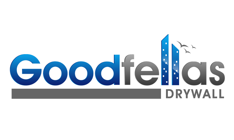 Logo Design by Mobin Asghar - Entry No. 112 in the Logo Design Contest Creative Logo Design for Goodfellas Drywall.