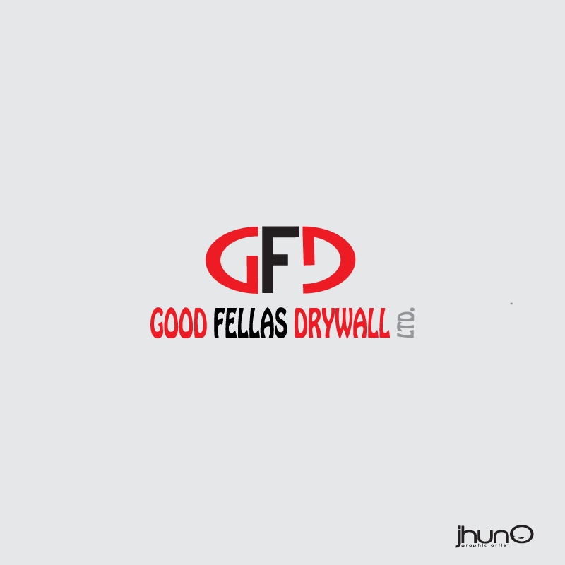 Logo Design by zesthar - Entry No. 115 in the Logo Design Contest Creative Logo Design for Goodfellas Drywall.