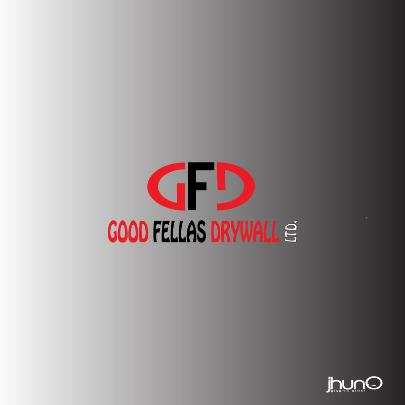 Logo Design by zesthar - Entry No. 116 in the Logo Design Contest Creative Logo Design for Goodfellas Drywall.