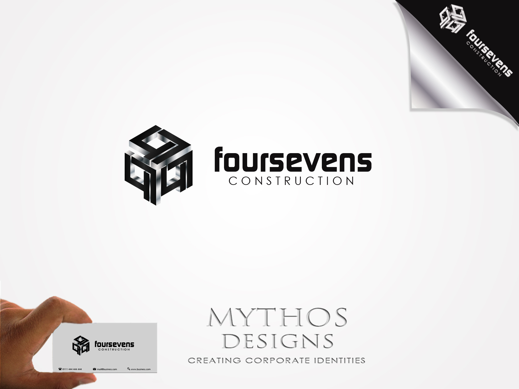 Logo Design by Mythos Designs - Entry No. 43 in the Logo Design Contest New Logo Design for foursevens.
