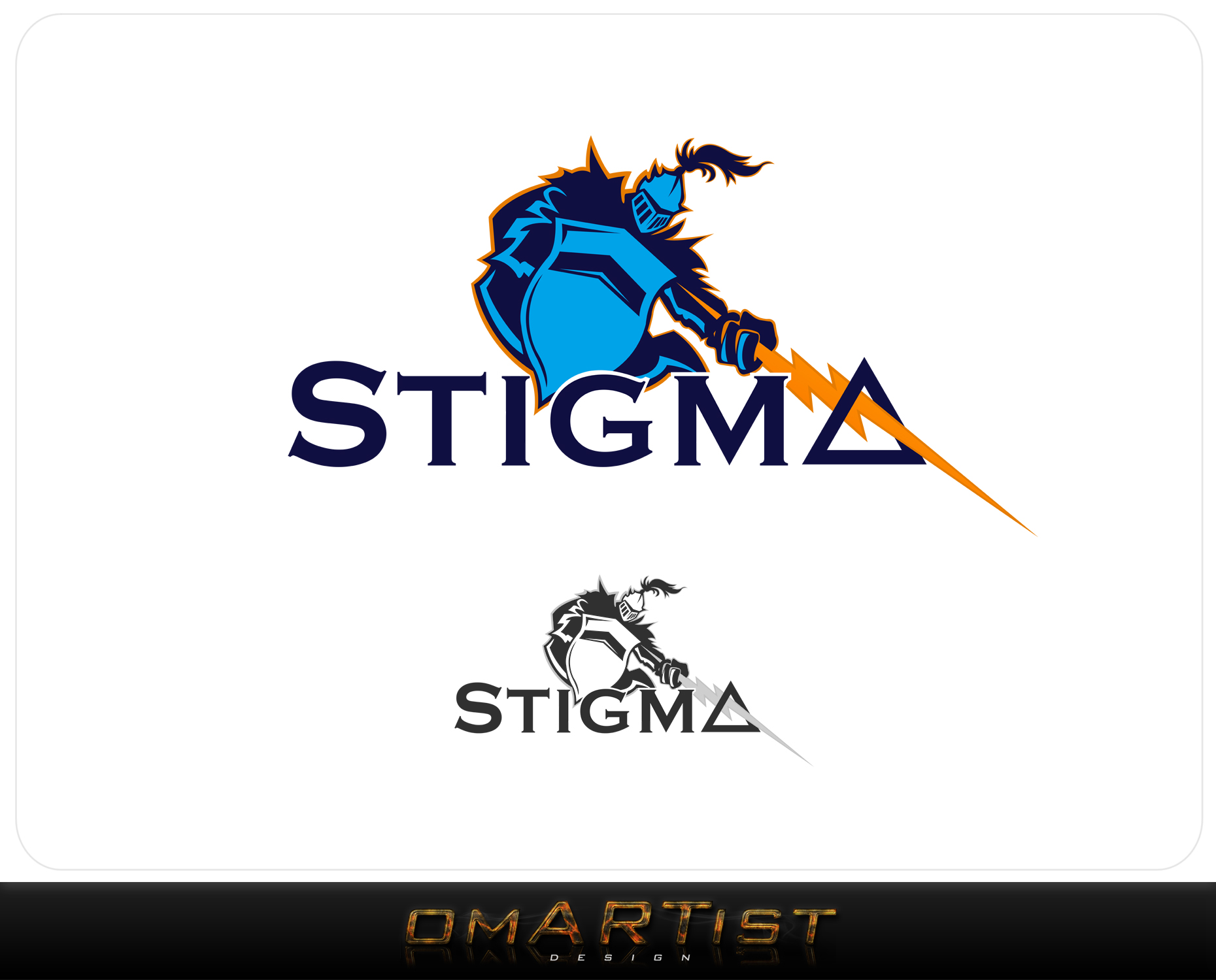 Logo Design by omARTist - Entry No. 12 in the Logo Design Contest Creative Logo Design for STIGMA.