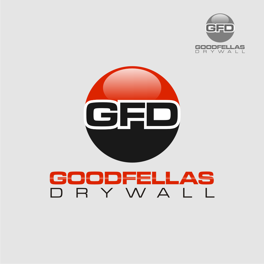 Logo Design by Deni Prawira - Entry No. 117 in the Logo Design Contest Creative Logo Design for Goodfellas Drywall.