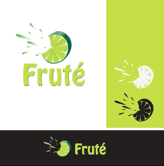 Logo Design by limix - Entry No. 17 in the Logo Design Contest Imaginative Logo Design for Fruté.