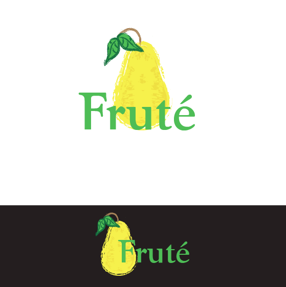 Logo Design by limix - Entry No. 19 in the Logo Design Contest Imaginative Logo Design for Fruté.