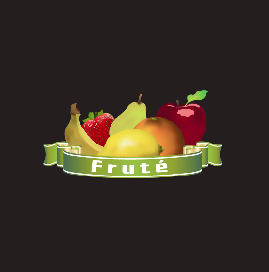 Logo Design by limix - Entry No. 20 in the Logo Design Contest Imaginative Logo Design for Fruté.