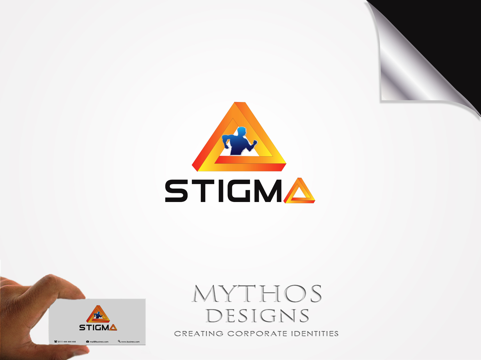 Logo Design by Mythos Designs - Entry No. 15 in the Logo Design Contest Creative Logo Design for STIGMA.