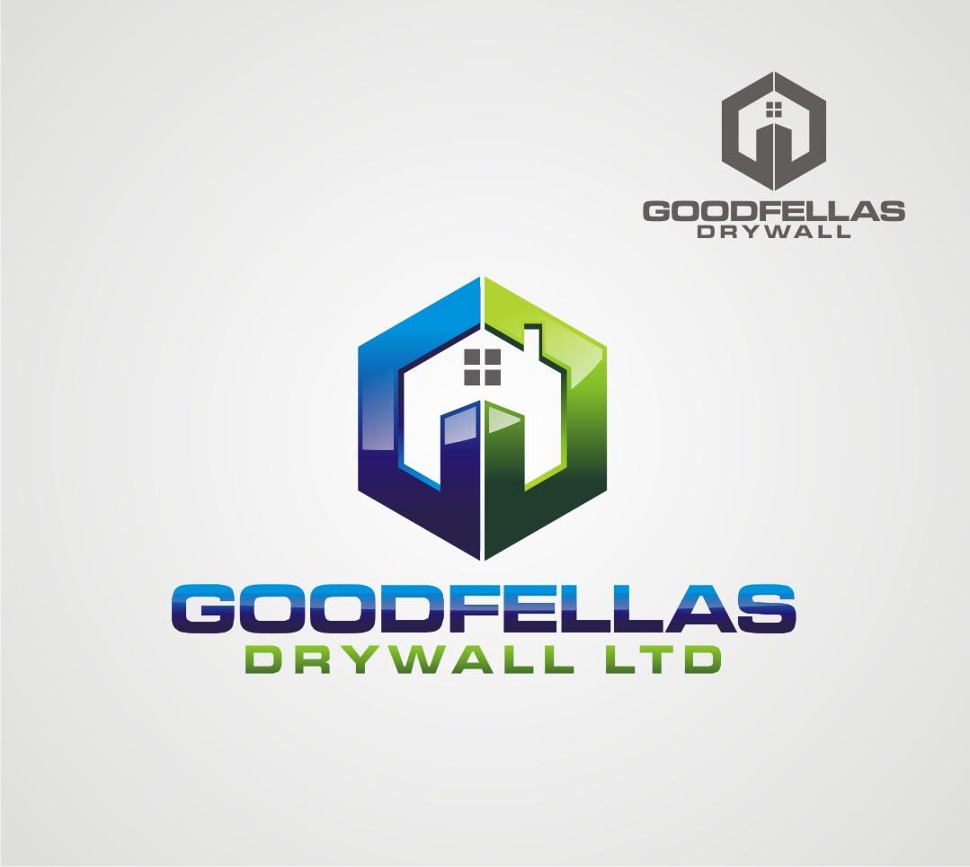 Logo Design by Reivan Ferdinan - Entry No. 118 in the Logo Design Contest Creative Logo Design for Goodfellas Drywall.