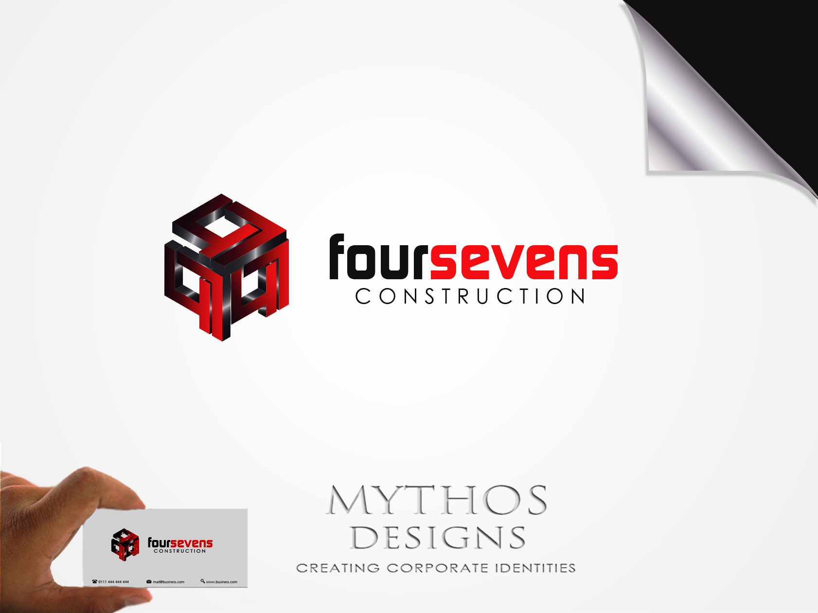 Logo Design by Mythos Designs - Entry No. 46 in the Logo Design Contest New Logo Design for foursevens.