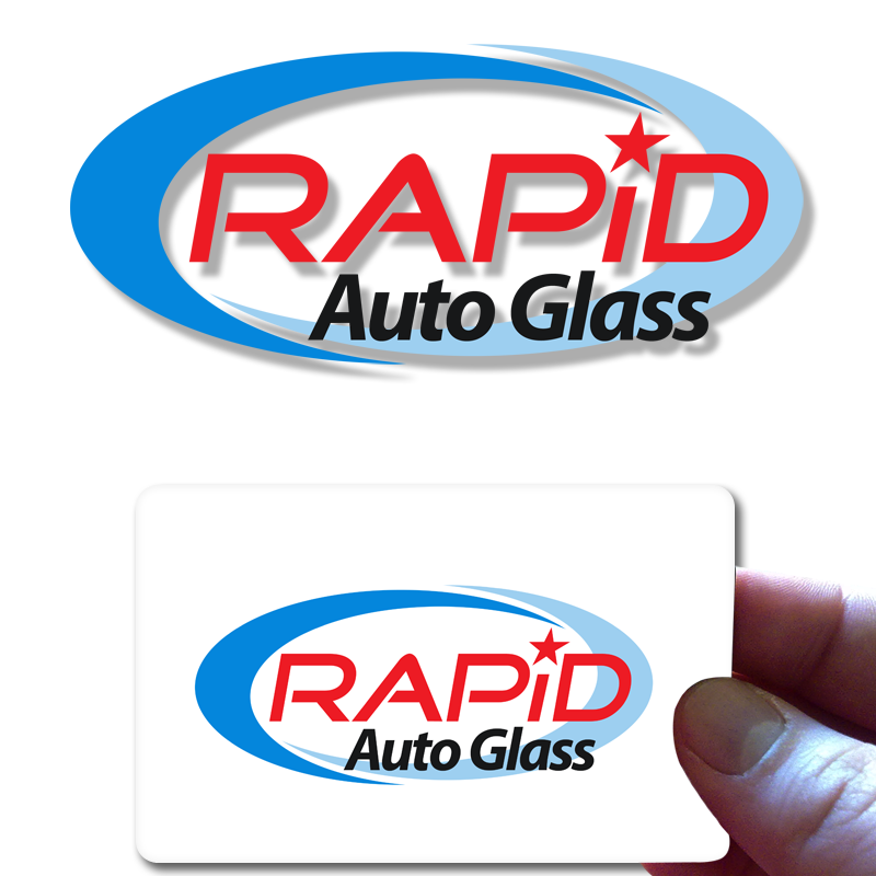 Logo Design by Private User - Entry No. 179 in the Logo Design Contest Unique Logo Design Wanted for Rapid Auto Glass.
