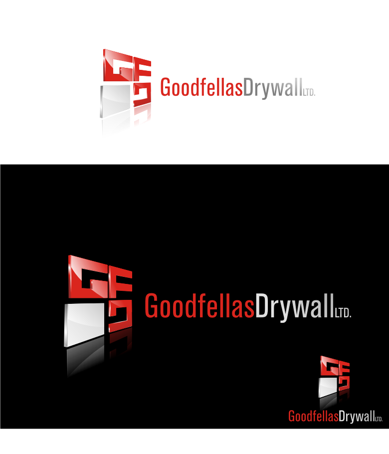 Logo Design by graphicleaf - Entry No. 134 in the Logo Design Contest Creative Logo Design for Goodfellas Drywall.