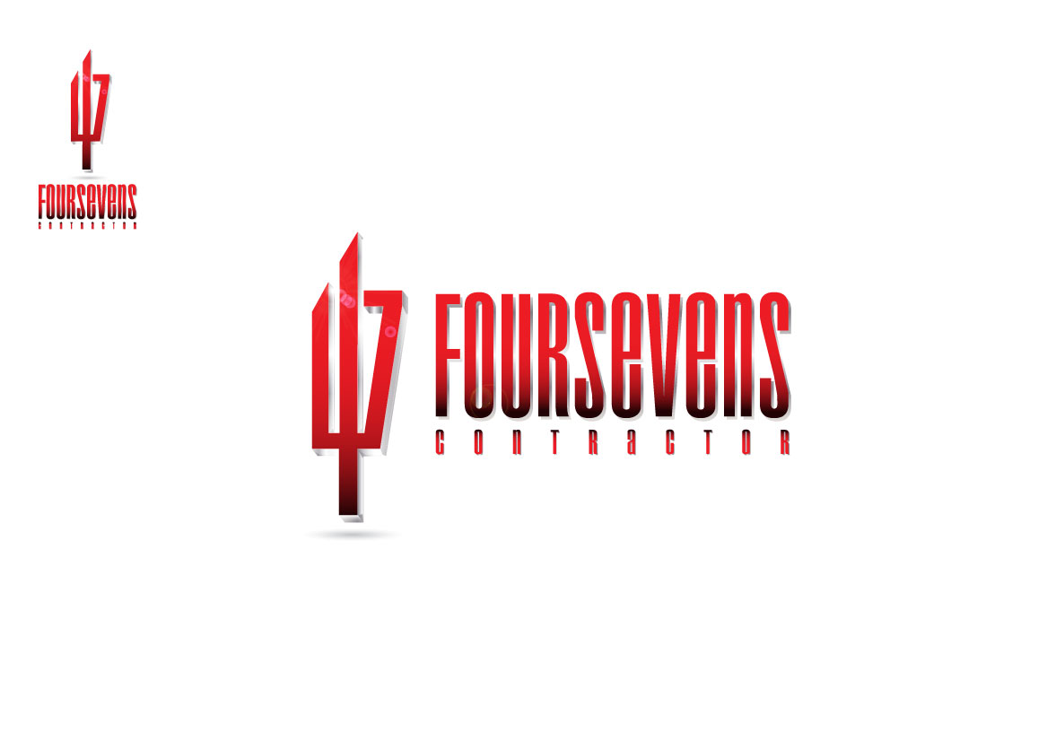 Logo Design by Dit L Pambudi - Entry No. 47 in the Logo Design Contest New Logo Design for foursevens.