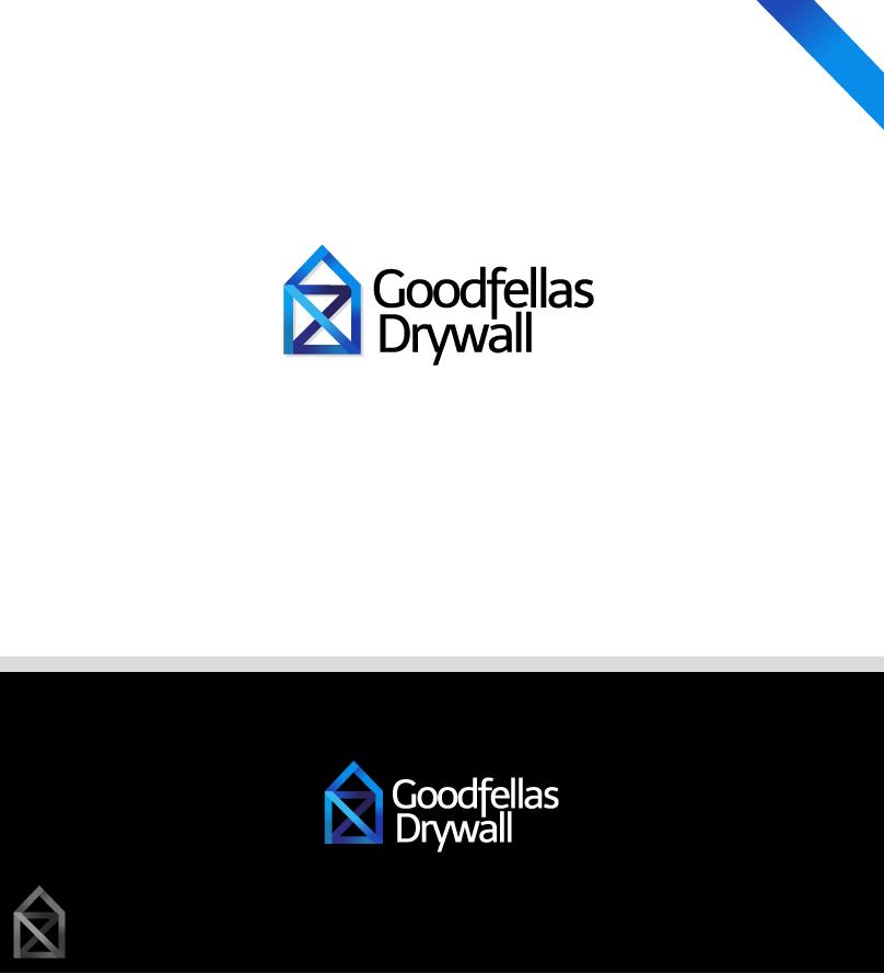 Logo Design by Ziza Stupkova - Entry No. 137 in the Logo Design Contest Creative Logo Design for Goodfellas Drywall.