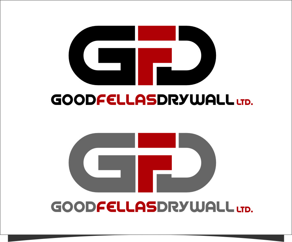 Logo Design by RoSyid Rono-Rene On Java - Entry No. 138 in the Logo Design Contest Creative Logo Design for Goodfellas Drywall.