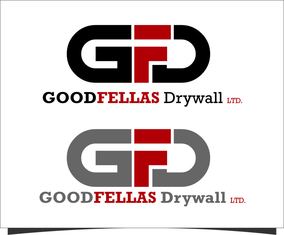 Logo Design by RasYa Muhammad Athaya - Entry No. 139 in the Logo Design Contest Creative Logo Design for Goodfellas Drywall.