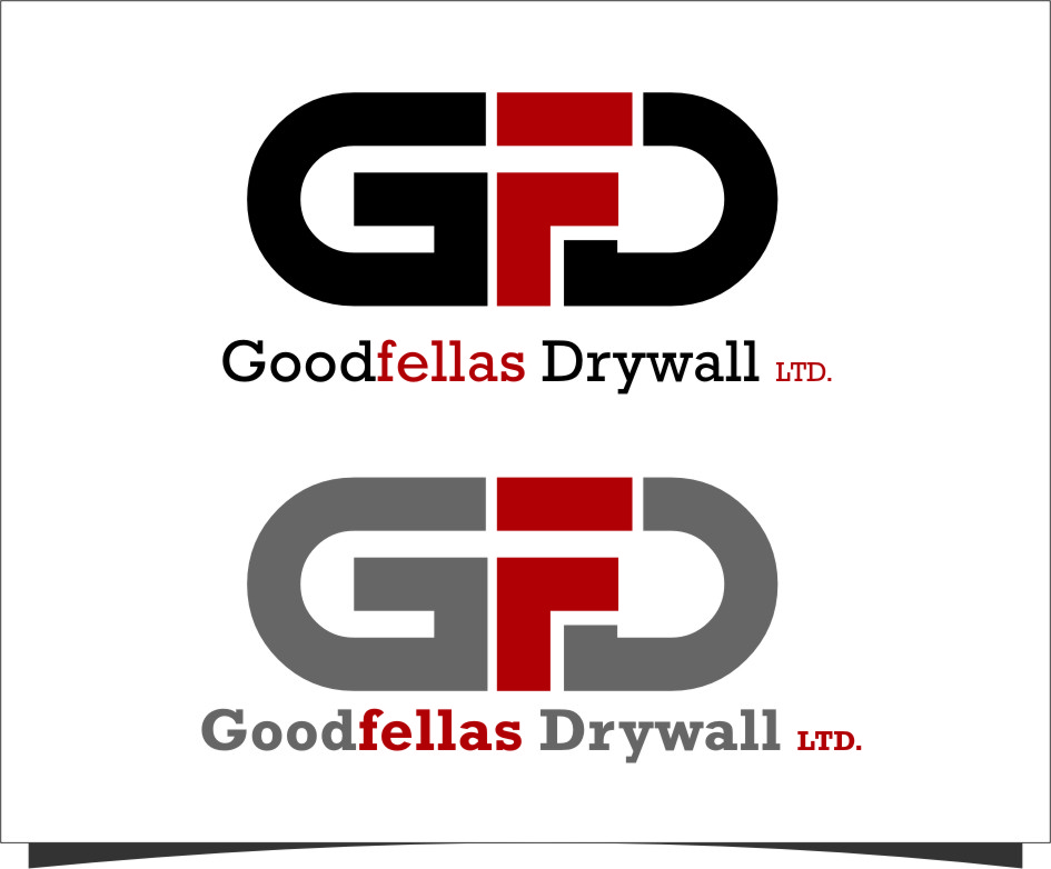 Logo Design by RoSyid Rono-Rene On Java - Entry No. 140 in the Logo Design Contest Creative Logo Design for Goodfellas Drywall.