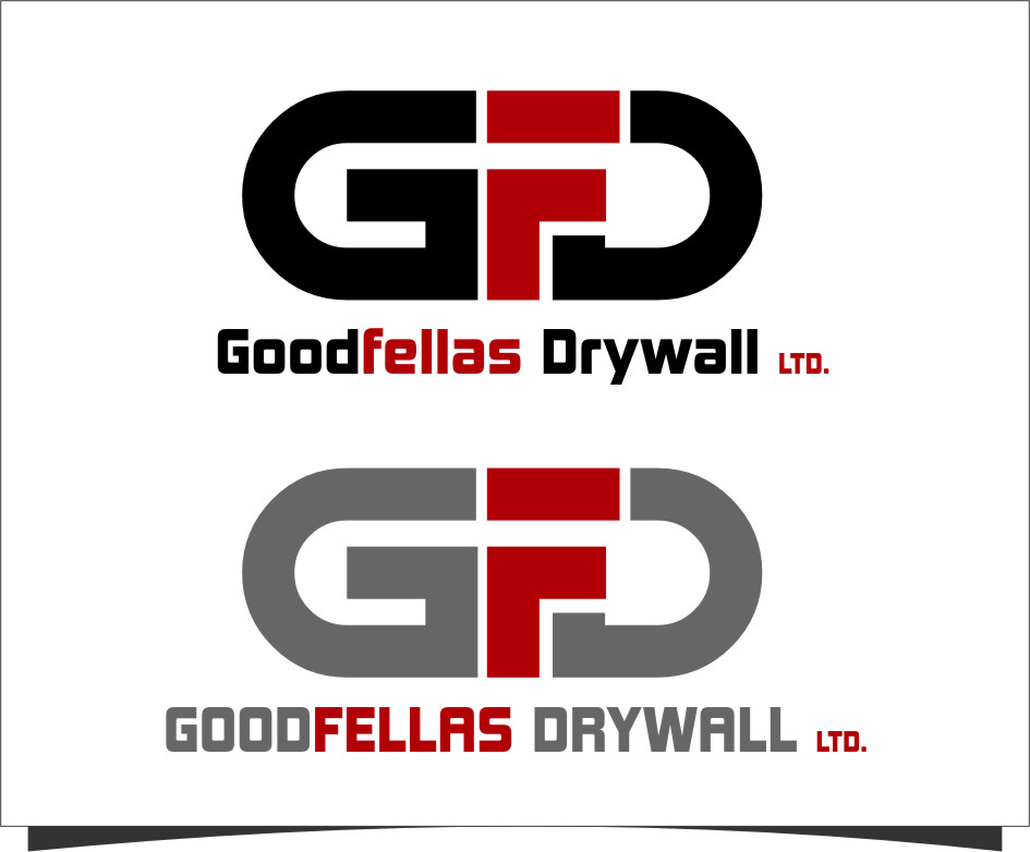 Logo Design by Ngepet_art - Entry No. 141 in the Logo Design Contest Creative Logo Design for Goodfellas Drywall.