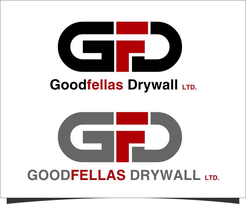 Logo Design by Ngepet_art - Entry No. 142 in the Logo Design Contest Creative Logo Design for Goodfellas Drywall.