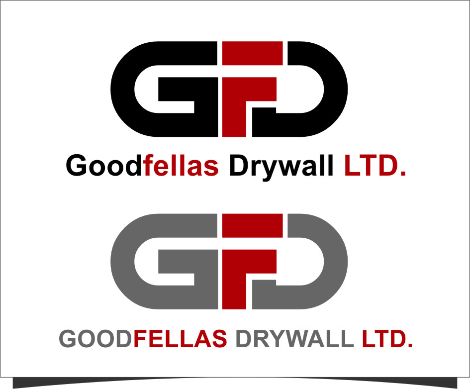 Logo Design by Ngepet_art - Entry No. 144 in the Logo Design Contest Creative Logo Design for Goodfellas Drywall.