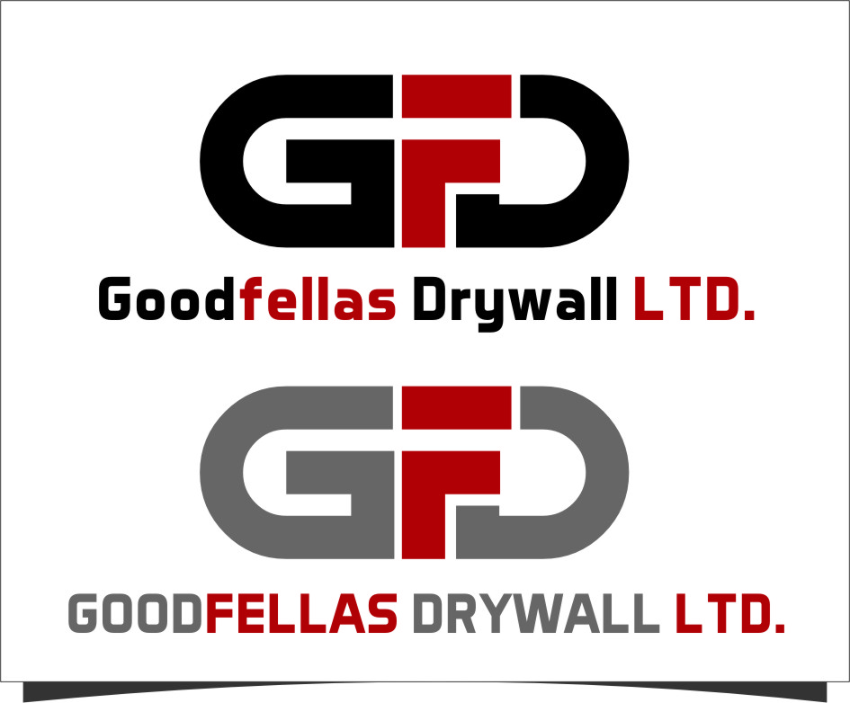 Logo Design by Ngepet_art - Entry No. 145 in the Logo Design Contest Creative Logo Design for Goodfellas Drywall.