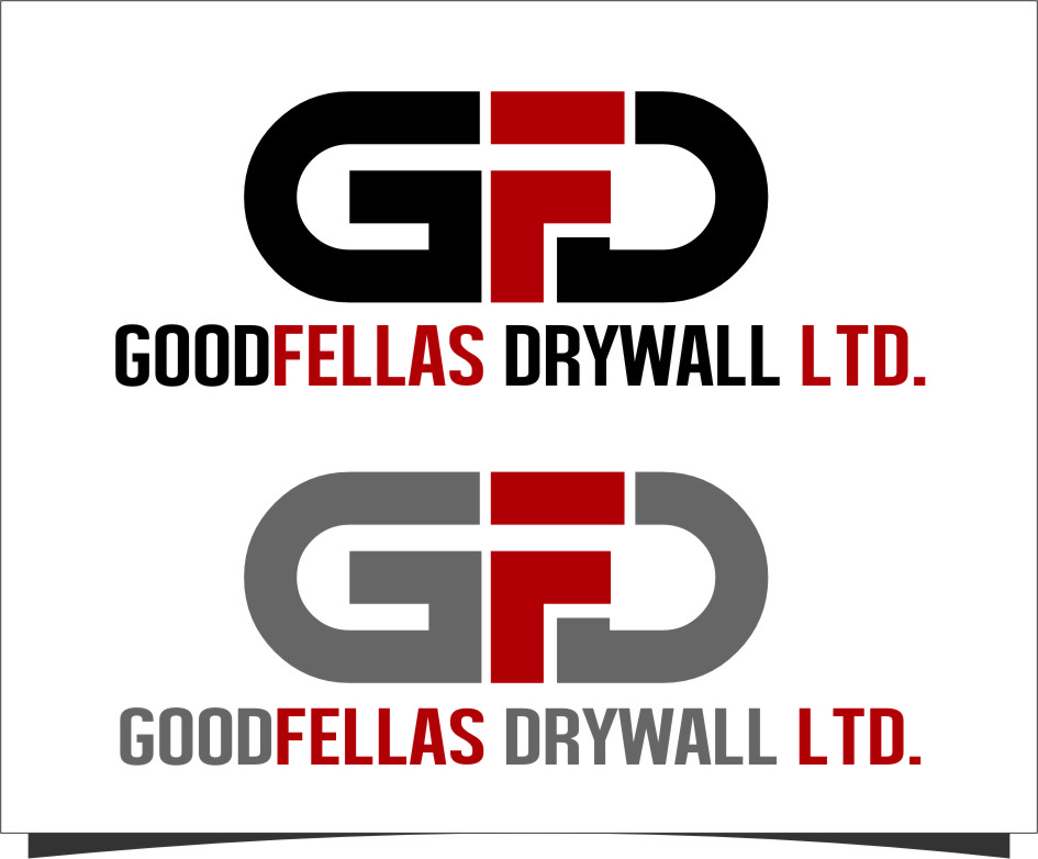 Logo Design by Ngepet_art - Entry No. 146 in the Logo Design Contest Creative Logo Design for Goodfellas Drywall.