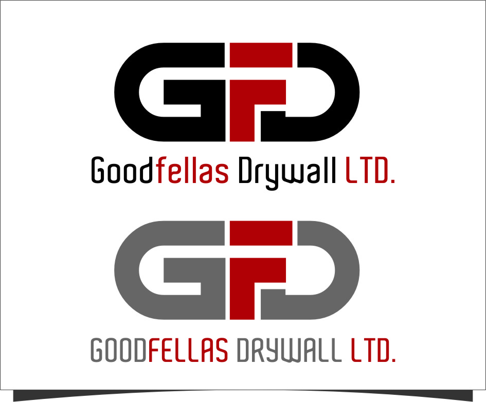 Logo Design by Ngepet_art - Entry No. 147 in the Logo Design Contest Creative Logo Design for Goodfellas Drywall.