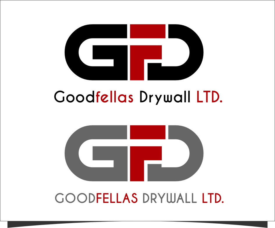 Logo Design by Ngepet_art - Entry No. 148 in the Logo Design Contest Creative Logo Design for Goodfellas Drywall.
