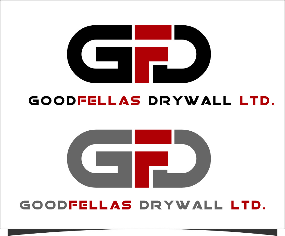 Logo Design by RasYa Muhammad Athaya - Entry No. 149 in the Logo Design Contest Creative Logo Design for Goodfellas Drywall.