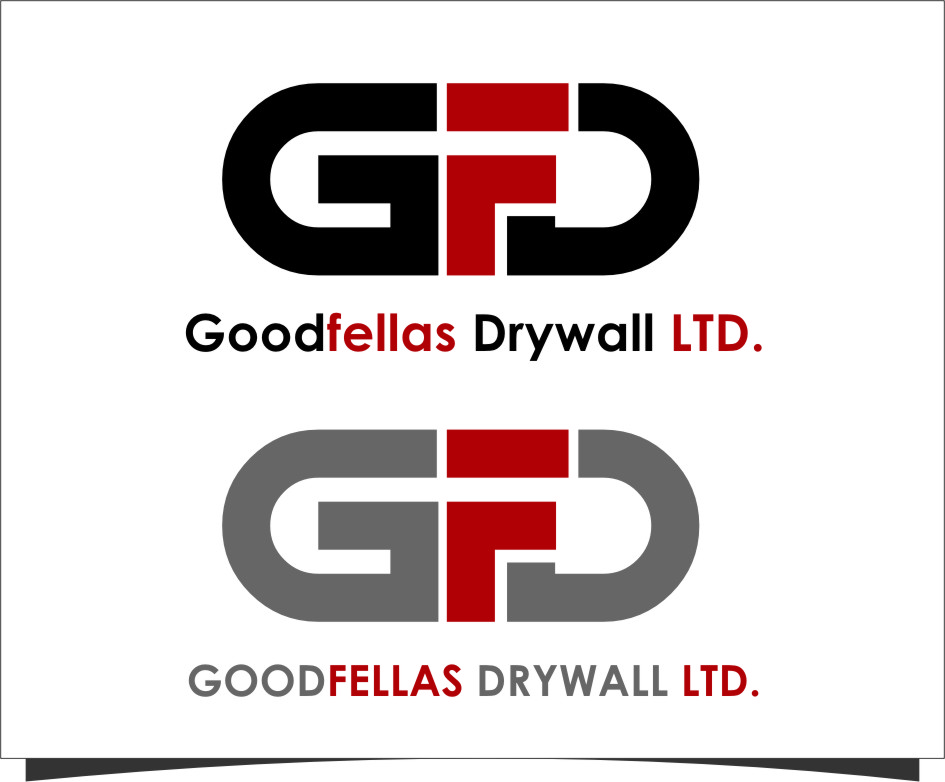 Logo Design by Ngepet_art - Entry No. 150 in the Logo Design Contest Creative Logo Design for Goodfellas Drywall.