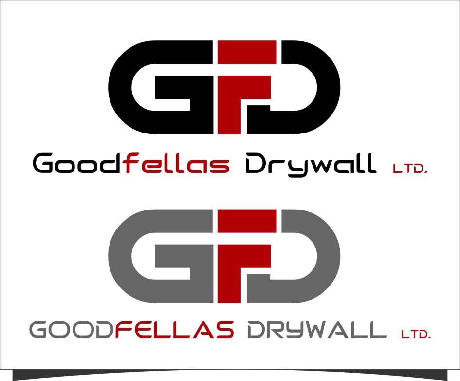 Logo Design by RoSyid Rono-Rene On Java - Entry No. 151 in the Logo Design Contest Creative Logo Design for Goodfellas Drywall.