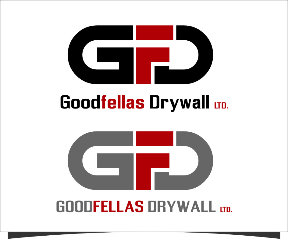 Logo Design by RasYa Muhammad Athaya - Entry No. 152 in the Logo Design Contest Creative Logo Design for Goodfellas Drywall.