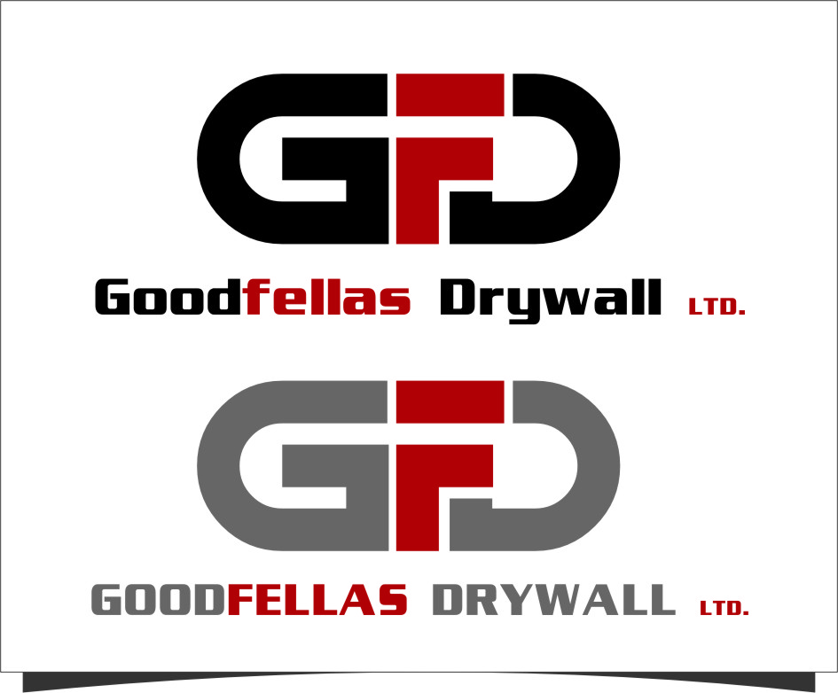 Logo Design by RasYa Muhammad Athaya - Entry No. 153 in the Logo Design Contest Creative Logo Design for Goodfellas Drywall.